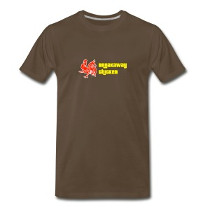 Men's Breakaway Chicken Shirt - Men's Premium T-Shirt