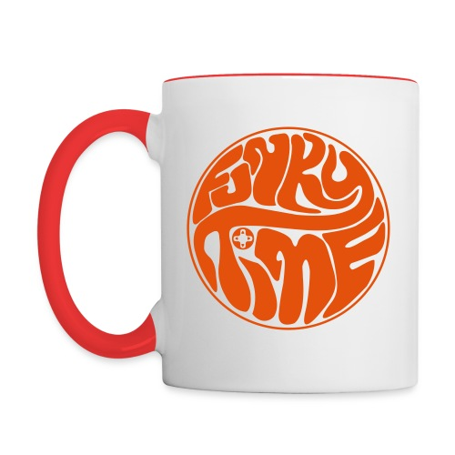 FUNKY TIME Coffee Mug - Contrast Coffee Mug