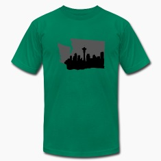 Seattle Skyline T-Shirts