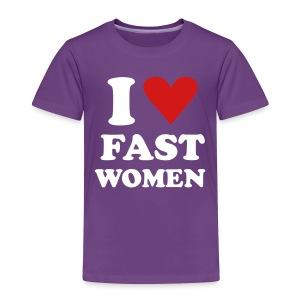 Heart Fast Women / Tee  / Toddler - Toddler Premium T-Shirt