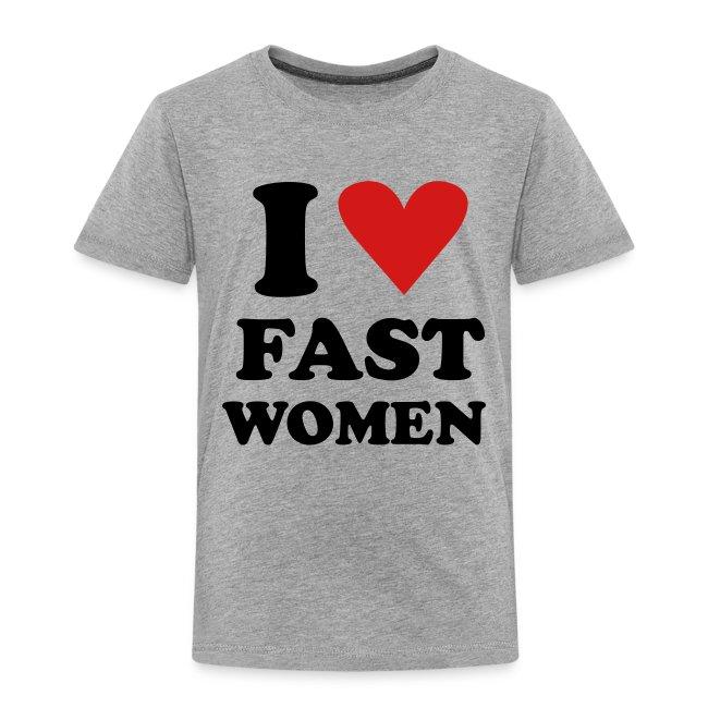 Heart Fast Women / Tee  / Toddler