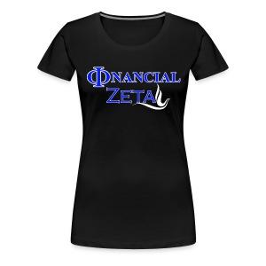 Phinancial Zeta - Women's Premium T-Shirt