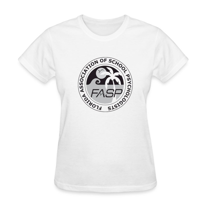 FASP_Badge_BW - Women's T-Shirt