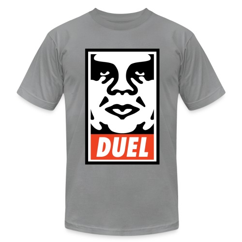Duel Icon Face - Men's Fine Jersey T-Shirt