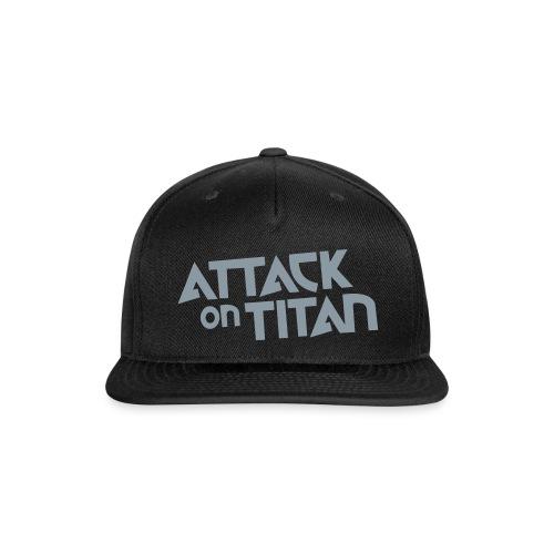 attack on titan snap-back - Snap-back Baseball Cap