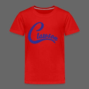 Clawson - Toddler Premium T-Shirt