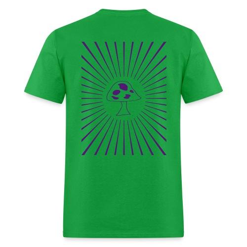 Mushroom Starburst - Men's T-Shirt