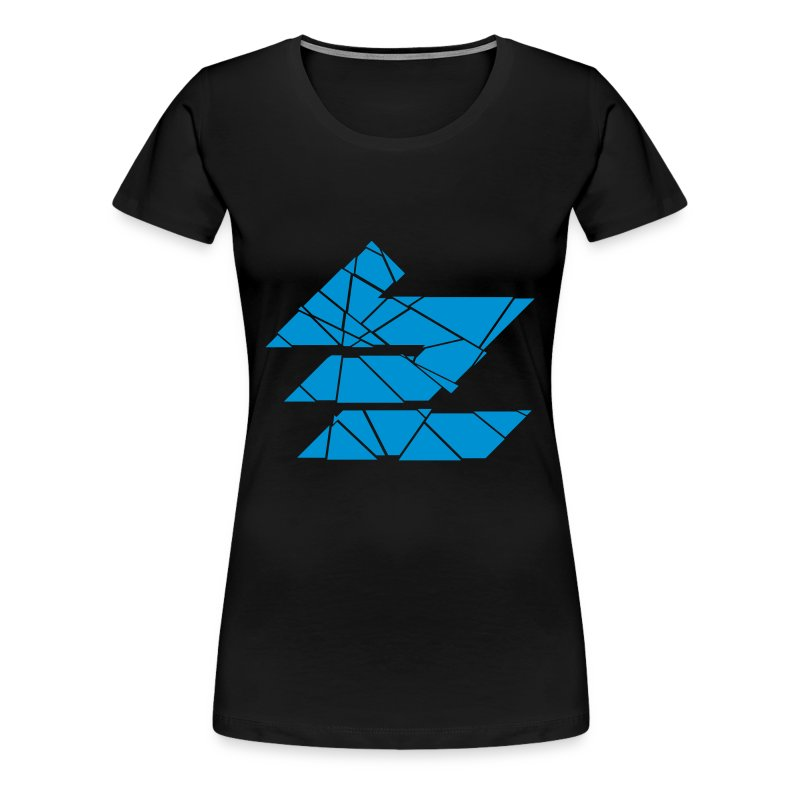 shatteredblue - Women's Premium T-Shirt