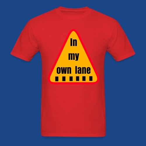 IN MY OWN LANE BY RONALD RENEE - Men's T-Shirt