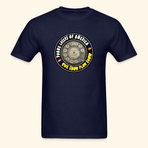 Snow Plow Show Rotary Dial (standard) - Men's T-Shirt