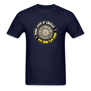 Snow Plow Show Rotary Dial - Men's T-Shirt