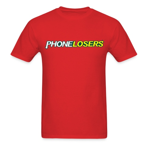 PhoneLosers Eat Right - Men's T-Shirt
