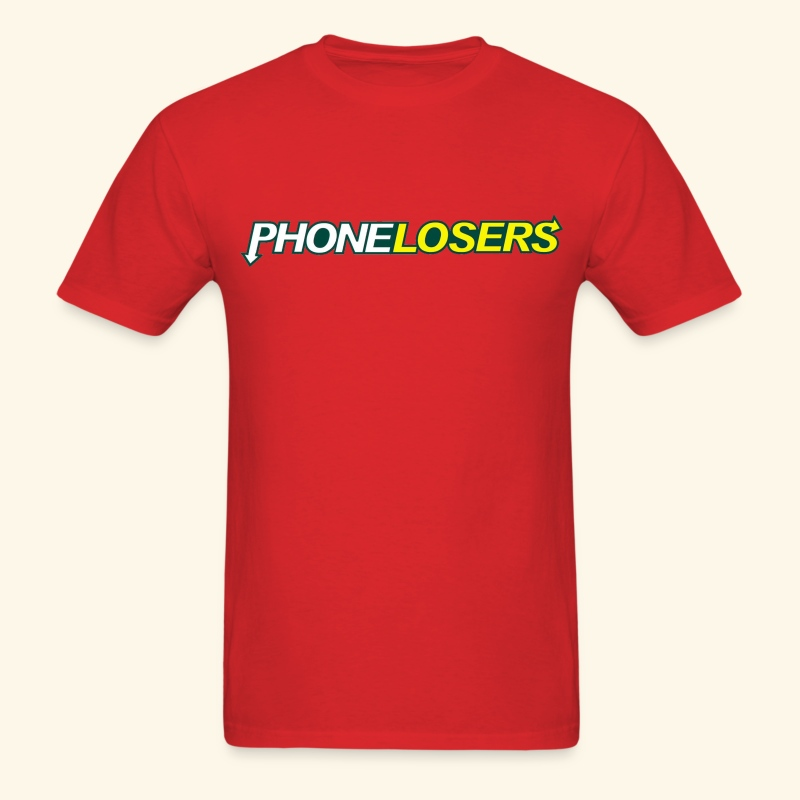 PhoneLosers Eat Right (standard) - Men's T-Shirt