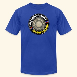 Snow Plow Show Rotary Dial (premium) - Men's Fine Jersey T-Shirt