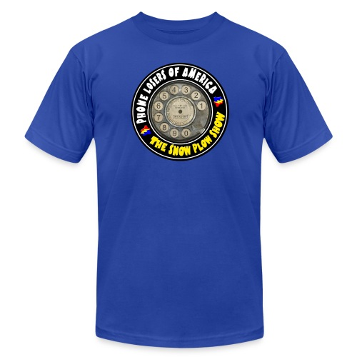 Snow Plow Show Rotary Dial (Premium, just for LTmatt) - Men's T-Shirt by American Apparel