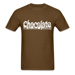 Chocolate Fixes Everything - Men's T-Shirt