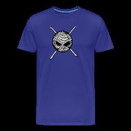 T-Shirts ~ Men's Premium T-Shirt ~ KnitterBugs Skull