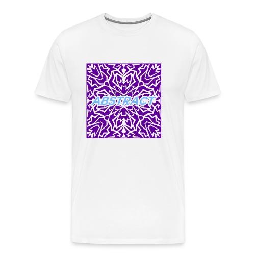 Abstract (Purple) - Men's Premium T-Shirt