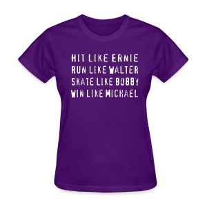 North Hit Run Skate Win Chicago - Women's T-Shirt