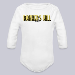 Bankers Hill  - Long Sleeve Baby Bodysuit