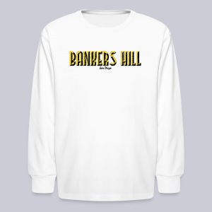 Bankers Hill  - Kids' Long Sleeve T-Shirt