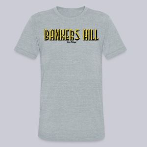 Bankers Hill  - Unisex Tri-Blend T-Shirt by American Apparel