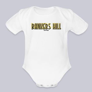 Bankers Hill  - Short Sleeve Baby Bodysuit