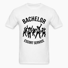 Bachelor Escort Service (Stag Party) T-Shirts