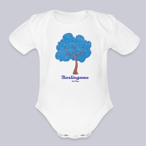 Burlingame - Short Sleeve Baby Bodysuit