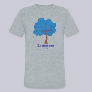 Burlingame - Unisex Tri-Blend T-Shirt by American Apparel