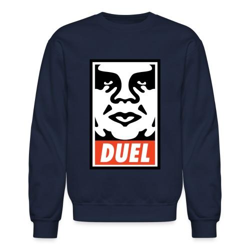 Duel Icon Face - Crewneck - Crewneck Sweatshirt