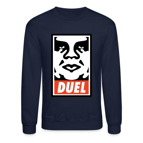 Duel Icon Face - Crewneck - Crewneck Sweatshirt