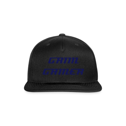 Grim Gamer Hat - Snap-back Baseball Cap