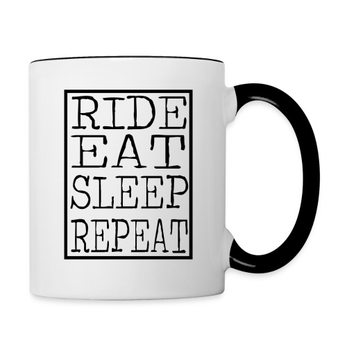 Ride Eat Sleep - Mug - Contrast Coffee Mug