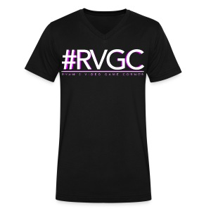 RVGC Logo V-Tee - Men's V-Neck T-Shirt by Canvas