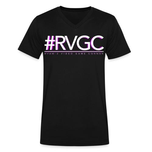 RVGC Logo V-Tee - Men's V-Neck T-Shirt by Canvas