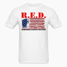 R.E.D US by GF APPAREL T-Shirts