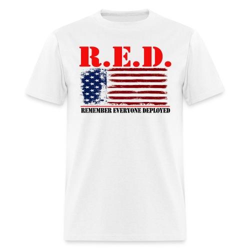 R.E.D- Style White Friday T-Shirt - Men's T-Shirt