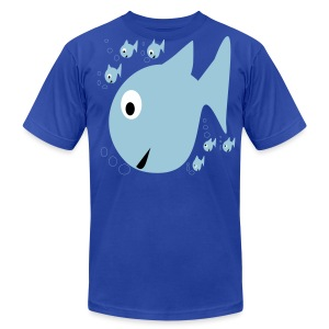 Fishes - Men's T-Shirt by American Apparel
