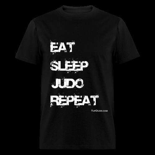 Eat Sleep Judo Repeat 002 - Men's T-Shirt
