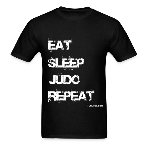 Eat Sleep Judo Repeat 002 - Men's T-Shirt