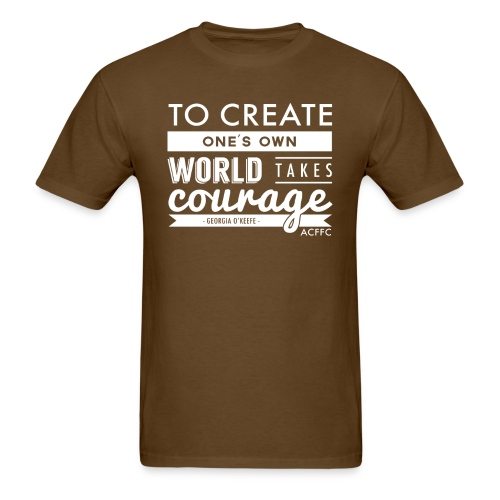 Courage - Men's T-Shirt