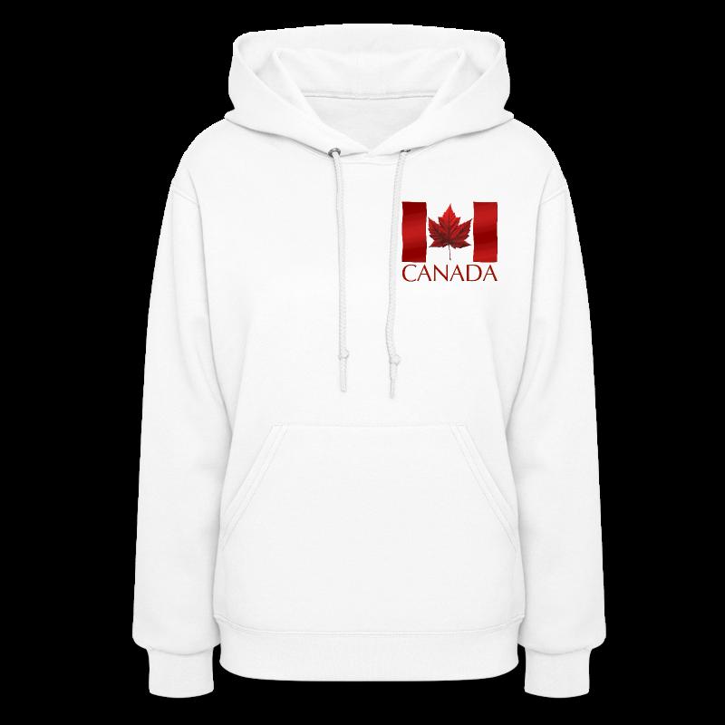 Women's Canada Hoodie Canada Flag Shirts Canada Souvenir Lady's Hoodie Sweatshirt - Women's Hoodie