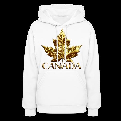 Lady's Canada Hoodie Cool Gold Medal Canada Hoodie - Women's Hoodie