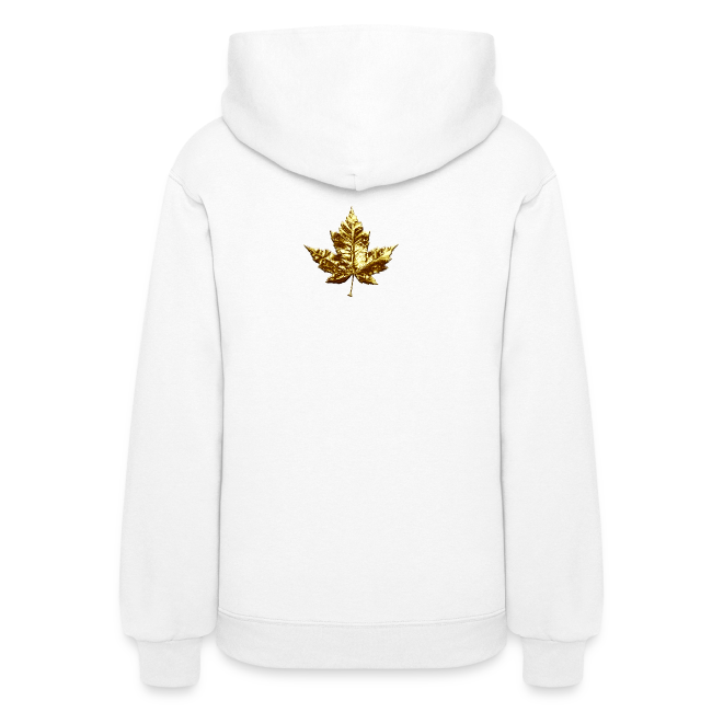Lady's Canada Hoodie Cool Gold Medal Canada Hoodie