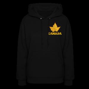Canada Hoodie Sweatshirt Women's Varsity Team Canada Hoodies - Women's Hoodie