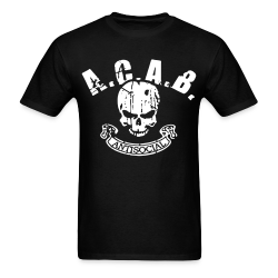 A.C.A.B. antisocial Anti-police - ACAB - All cops are bastards - Repression - Police brutality - Fuck cops - Copwatch