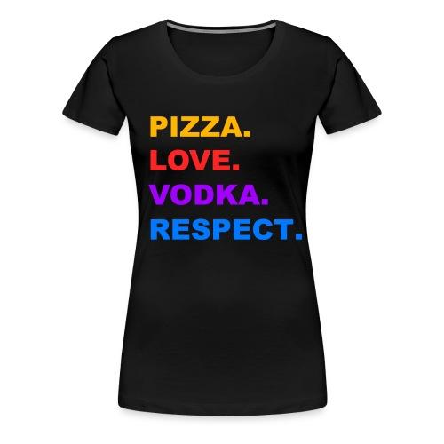 Women's PLVR Tee - Women's Premium T-Shirt