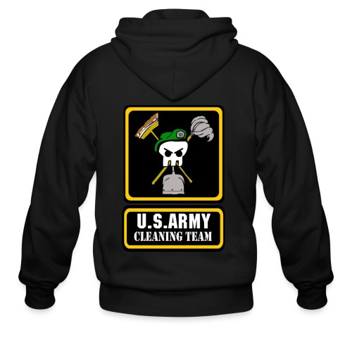 Army Cleaning Team  - Men's Zip Hoodie