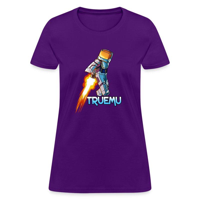 Women's T-Shirt: Jetpack TrueMU! - Women's T-Shirt